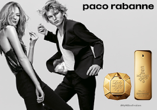 Paco Rabanne Lady Million & 1 Million